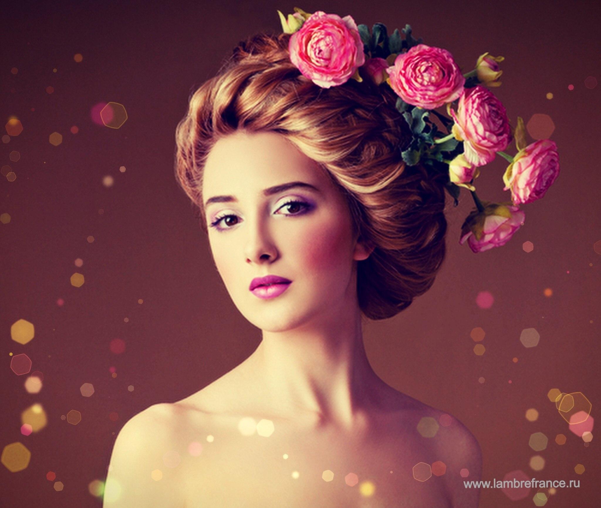 прически и макияж в период директории фото